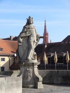 Auf der alten Mainbrücke
