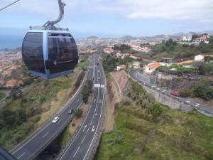 Stadtautobahn von oben