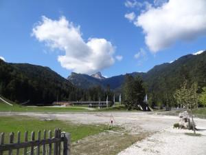 Vor dem Skistadion