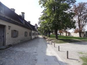 Burghof einer Vorburg